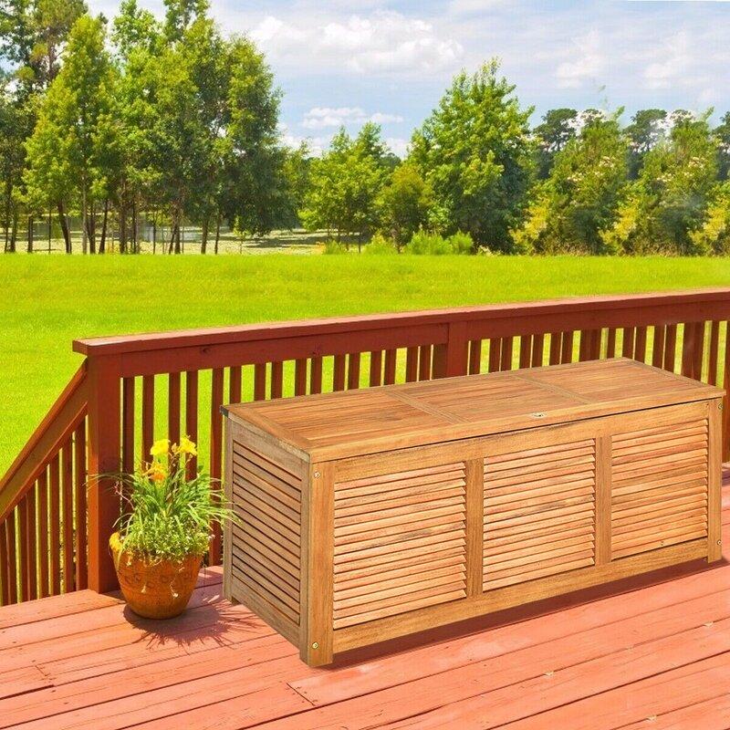 HEAWEEGO Wooden Storage Bench