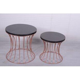 Sheryl 2 Piece Nesting Tables