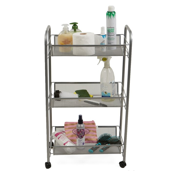3 Tier Mobile Office Utility Cart