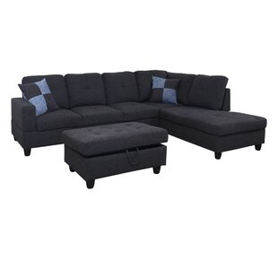 Stagbriar Sectional with Ottoman