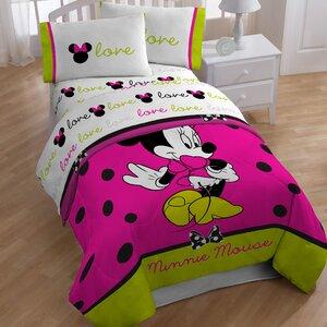 Minnie 4 Piece Toddler Bedding Set