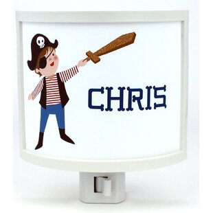 Common Rebels Pirate Personalized Night Light