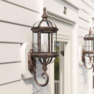 Solid Brass Outdoor Lights | Wayfair