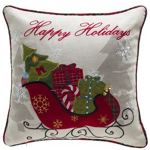 Holiday Gifts Throw Pillow