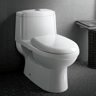 Ariel Bath Platinum Anna Dual-Flush Elong..