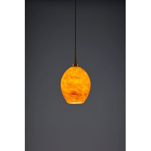 Bolero 1-Light Cone Pendant by Bruck Lighting