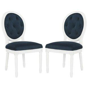 Riya Upholstered Dining Chair (Set of 2) by Willa Arlo Interiors