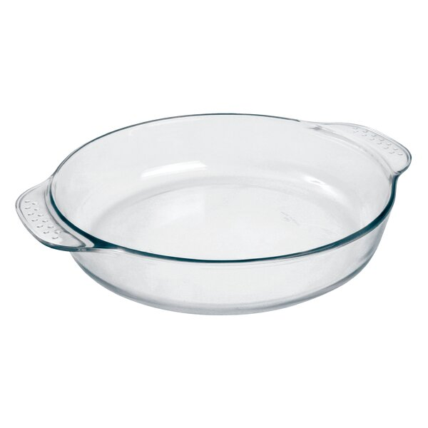 Marinex Prediletta 2 5 Qt Glass Oval Baking Dish Wayfair