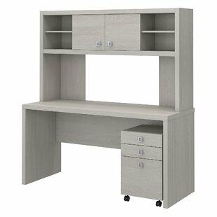 Echo 3 Piece Desk Office Suite by Kathy Ireland Office by Bush