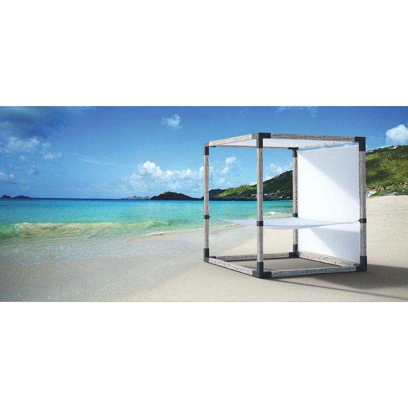 TOJA GRID 8X8 Modular Pergola System with built in Hammock for 4x4 wood  posts Metal Accessory