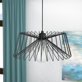 Brayden Studio Diphda 1-Light Drum Pendant