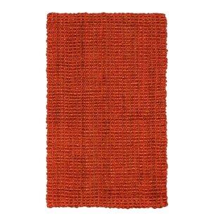 Hand-Woven Carmine Area Rug by Jute&Co