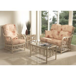 Review Desiree 4 Piece Conservatory Sofa Set