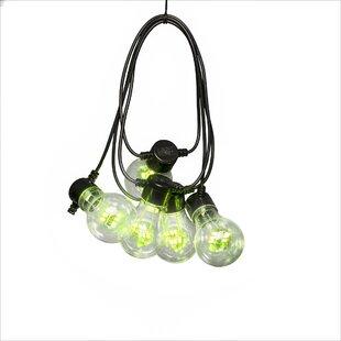Konstsmide LED Festoon Cable Garden String Lights Image