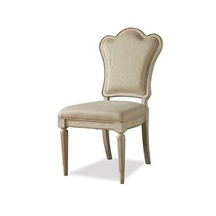 Lark Manor Daniella Upholstered Back Side Chair (Set of 2)