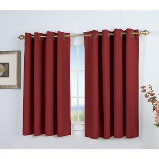basement window curtains short - Basement Window Curtains