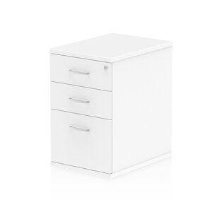 600 Desk High Pedestal 3 Drawer Filing Cabinet By Brayden Studio