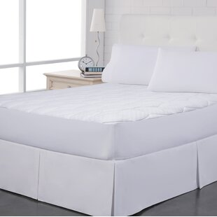 Pin Dot Polyester Mattress Pad