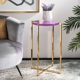 Bert End Table by Everly Quinn
