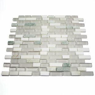 White Subway Tile On Mesh Wayfair