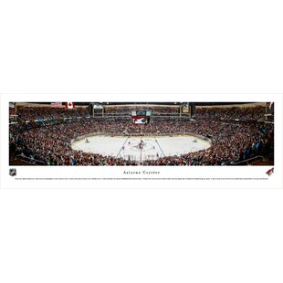 NHL Arizona Coyotes - Center Ice by Christopher Gjevre Photographic Print