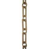 Rectangular Un-Welded Decorative Fixture Chain