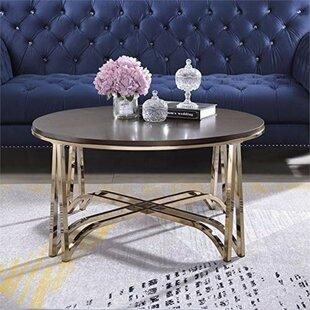 Treadaway Wooden Coffee Table by Mercer41