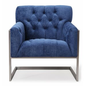 Lygia Velvet Armchair by Willa Arlo Interiors