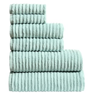 Tisdale 6 Piece Towel Set