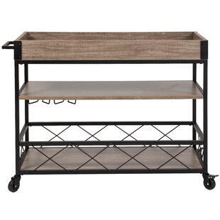 Moy Bar Cart by Gracie Oaks
