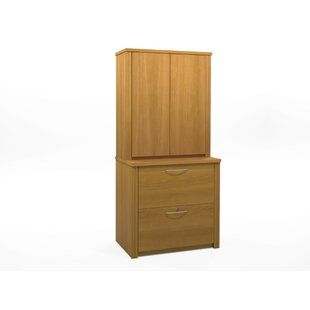 Latitude Run Witchel 2-Drawer Accessories Lateral File and Cabinet