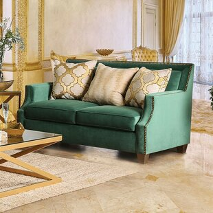 Order Serrano Loveseat by Everly Quinn