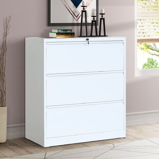 Diaz 3 Drawer Lateral Filing Cabinet