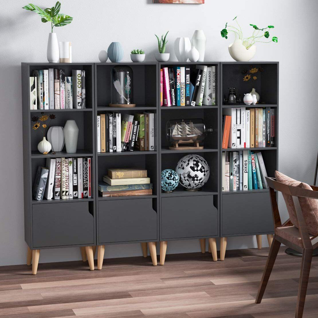 Gray Corrigan Studio Bookcases You Ll Love In 2021 Wayfair