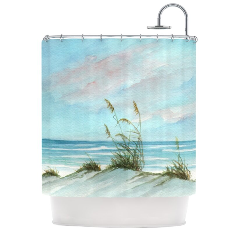 Sea Oats Shower Curtain from Wayfair!