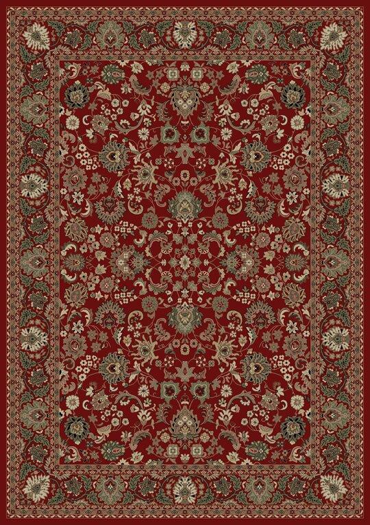 Persian Clics Oriental Mahal Red Area Rug