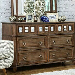 Izola 4 Drawer Dresser with Mirror