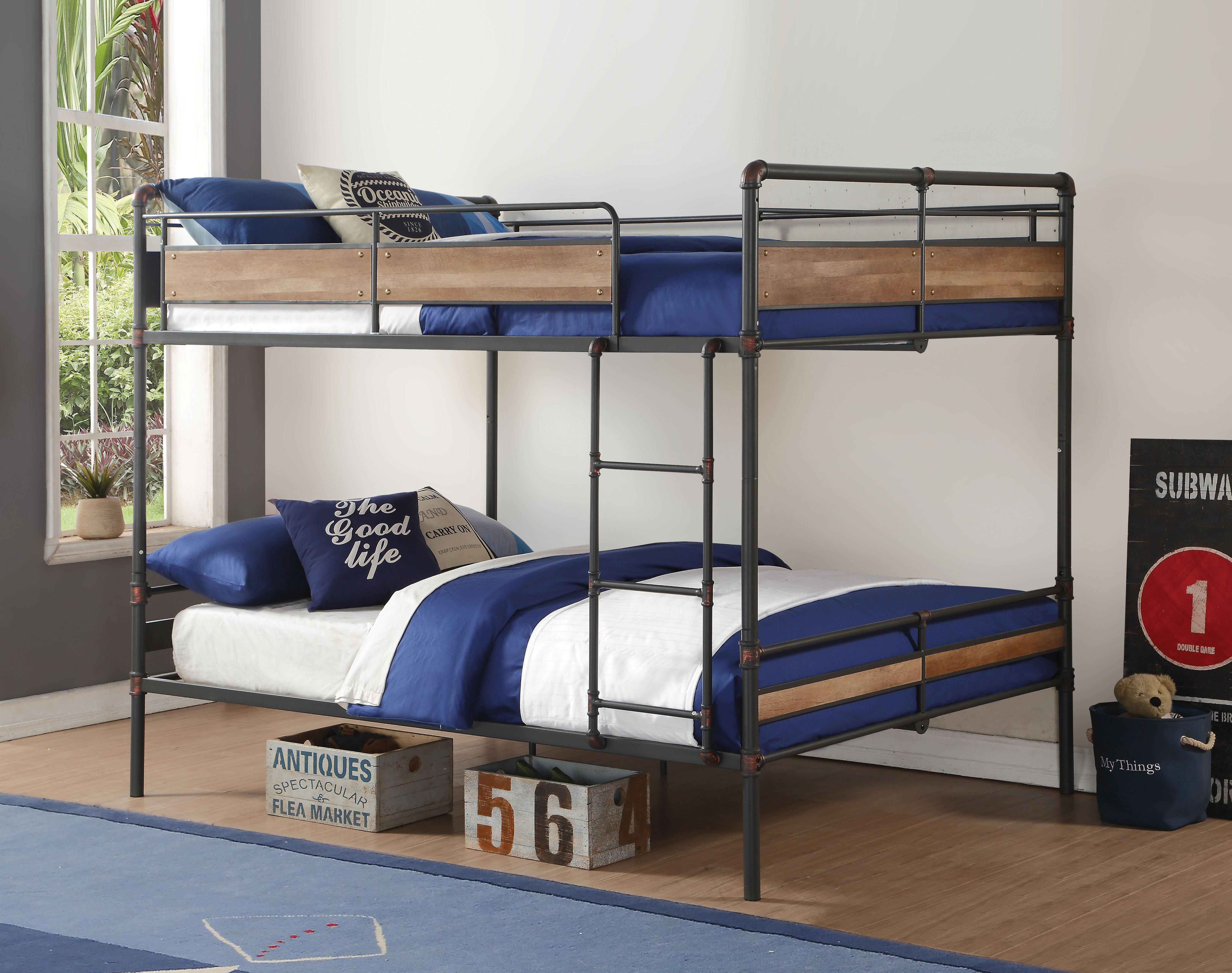 Harriet Bee Edelen Bunk Bed Wayfair
