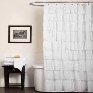 Orona Ruffle Shower Curtain