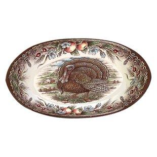 Turkey Large Oval Platter