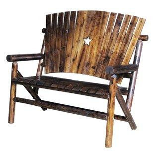 Ardoin Wood Bench by Loon Peak