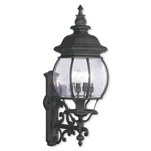 Darby Home Co Kelly 4-Light Aluminum Outdoor Sconce