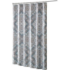 Barris Shower CurtainFind The Best Shower Curtains   Wayfair. Black And Cream Shower Curtain. Home Design Ideas