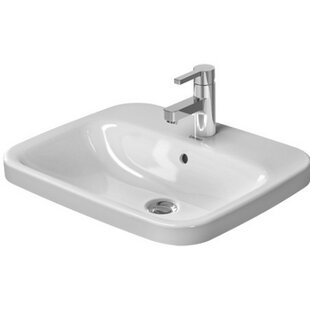 Compare & Buy DuraStyle Ceramic Rectangular Vessel Bathroom Sink with Overflow By Duravit