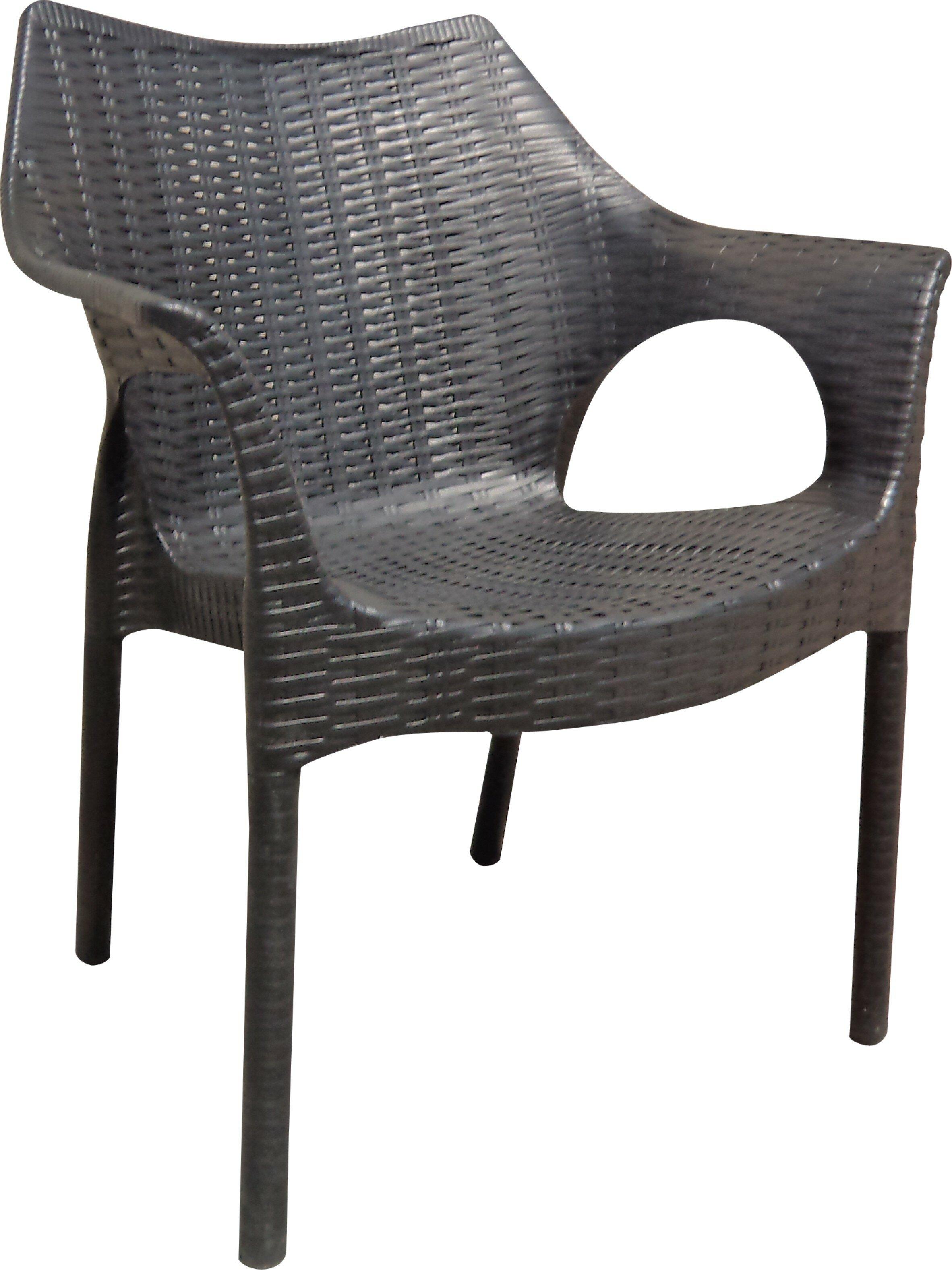 Wrought studio rockwell carina weatherproof patio chair reviews wayfair