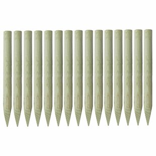 Lilbourn 2m Fence Post (Set of 15) by Lynton Garden
