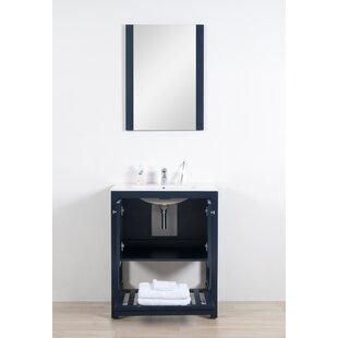 Lahr Ceramic 30 Single Bathroom Vanity Set (Set of 3) ByBreakwater Bay