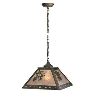 Meyda Tiffany Balsam Pine 2-Light Square/..