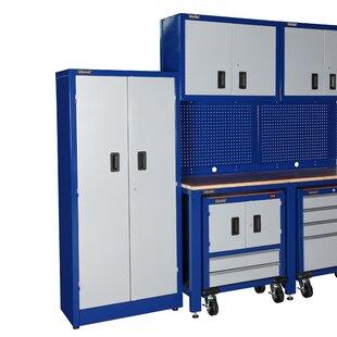 7' H x 8' W x 2' D 7 Piece Garage Storage System by International