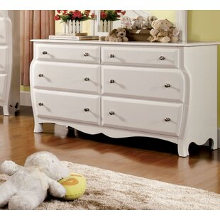 Yarusha 6 Drawer Double Dresser
